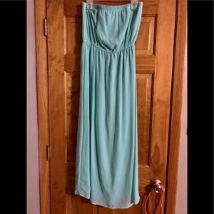 Forever 21 baby blue maxi